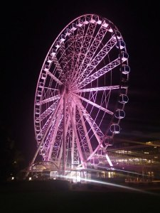 Ferris Wheel overlooking Brisbane city!