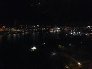 Hard to see but its the city late at night