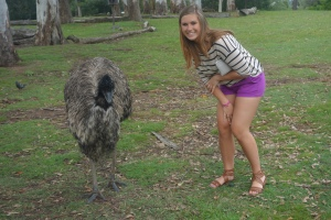so proud of myself for getting that close to an Emu!