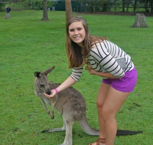 Feeding the Roos!